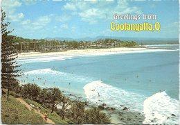 Greetings From Coolangatta, Looking North To Kirra Hill And Coolangatta Beach, Queensland, Australia - Gold Coast