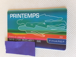 Carte De Crédit Printemps - Geldkarten (Ablauf Min. 10 Jahre)