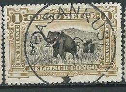 Congo Belge    - Yvert N° 70  Oblitéré Basankusu  -  Bce 16527 - Belgisch-Kongo