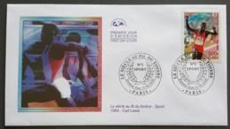 FDC 2000 - YT N°3313 - LE SIECLE AU FIL DU TIMBRE / SPORT - PARIS - FDC