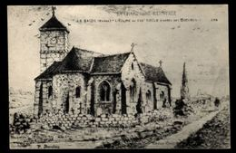 51 - LE BAIZIL (Marne) - L'Eglise Au XVIIe Siècle D'aprés Des Documents - France