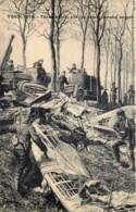 Yser 1914 : Taube Abattu Par Les Autos-canons Belges - Belgique
