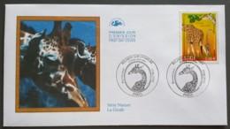 FDC 2000 - YT N°3333 - NATURE DE FRANCE / FAUNE ET FLORE / GIRAFE - PARIS - 2000-2009