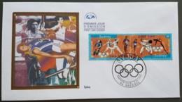 FDC 2000 - YT N°3340, 3341 - JEUX OLYMPIQUES DE SYDNEY - ARCUEIL - FDC