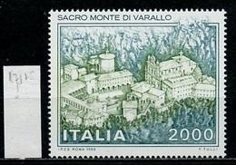 Italie - Italy - Italien 1986 Y&T N°1711 - Michel N°1979 *** - 200l Sacro Monte Di Varallo - 1946-.. République
