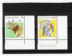 LKA360 SCHWEIZ 1992 Michl 1461/62 ** Postfrisch SIEHE ABBILDUNG - Schweiz