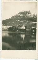 Le Lac D'Annecy; Le Château De Duingt Et Les Dents De Lanfon - écrite. (Boileau - Pringy) - Annecy