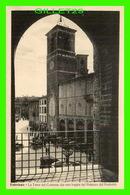 FABRIANO, ITALIA - LA TORRE DEL COMUNE DA UNA LOGGIA DEL PALAZZO DEL PODESTÀ - ANIMATED - EDIZ. G. LOTTI - - Ancona