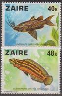 Faune Aquatique - ZAIRE - Poissons D'Afrique - N° 906-907 ** - 1978 - Zaïre