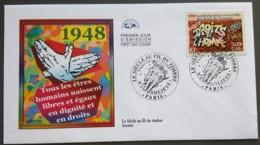 FDC 2000 - YT N°3354 - LE SIECLE AU FIL DU TIMBRE / SOCIETE - PARIS - FDC
