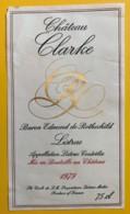 10190 - Château Clarke 1979  Listrac - Bordeaux