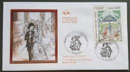 FDC 2000 - YT N°3359 - RAYMOND PEYNET / LE KIOSQUE DES AMOUREUX - VALENCE - 2000-2009