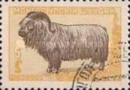 USED STAMPS Mongolia - Mongolian Animals -  1958 - Mongolia