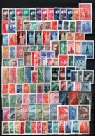 Jugoslavia 1945/82 Advanced Collection Over 1100 Val.diff. MNH/** VF/F - Yugoslavia