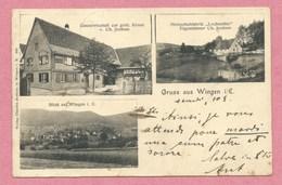67 - GRUSS Aus WINGEN Près LEMBACH - Lochmühle - Gastwirtschaft Zur Gold. Krone - Ch. JOCHUM - Frankreich