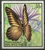 Burundi - 1968 Papilo Zenobia (Butterflies Series) 50f MH*  SG 375  Sc 253 - Burundi
