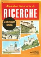 """3093 """"MERAVIGLIOSE FIGURINE PER LE MIE RICERCHE-CECOSLOVACCHIA-ROMANIA""""  FASCICOLO ORIGINALE - Geografia"""
