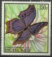 Burundi - 1968 Salamis Temora (Butterflies Series) 150f MH*  SG 377  Sc 255 - Burundi