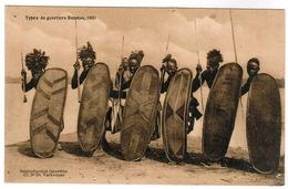 Ligue Nationale Pour La Protection De L'enfant Noire Au Congo Belge, Types De Guerriers Bapotos 1901 (pk55853) - Belgian Congo - Other
