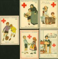 Belgique - CP 1 à 5 Au Profit De La Croix Rouge  (DD) DC2721 - 1918 Rotes Kreuz