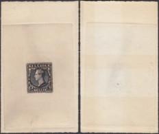 Belgique - Essai 1928 Albert 1er 5Fr De H. Mauquoy -Catalogue Stes B891 + Certificat (DD) DC2728 - Proeven & Herdruk
