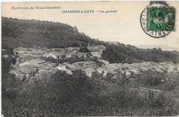 D54 - CHARMES LA COTE - VUE GENERALE - ENVIRONS DE TOUL ILLUSTRES - Autres Communes