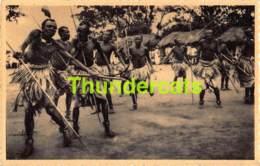 CPA RUANDA DANSES DES PECHEURS DU BUGESSERA BAHUTU DANCES - Ruanda-Urundi