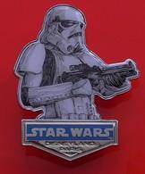 Walt Disney Disneyland Paris Stormtrooper Star Wars Pin Badge - Disney