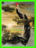 COQ - TORINOICHI - CARTE 3 DIMENSIONS - LES MISSIONS DES PÈRES DOMINICAINS, MONTRÉAL, EN 1978 - ÉCRITE - - Oiseaux
