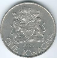 Malawi - 1 Kwacha - 1971 - Introduction Of Decimal Currency - KM12 - Malawi