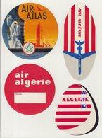 ETIQUETTES A BAGAGES  : ALGERIE . AIR ALGERIE . - Baggage Labels & Tags