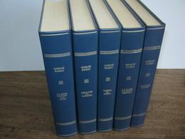 HERVE BAZIN-5 Superbes Volumes.« Collection LES IMMORTELS CHEFS-D'ŒUVRE » EDITIONS ROMBALDI,1970/71- - Libri, Riviste, Fumetti