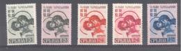 Serbien  Michel #  55 - 57 * - Occupation 1938-45