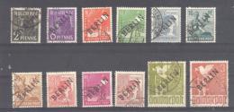 Berlin  Michel # 1 : 19  Teils Gepruft Schlegel - Used Stamps