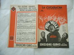 SPARTITO MUSICALE LA CUCARACHA VIVA VILLA DOMENICO SAVINO. - Musica & Strumenti