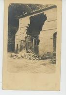 GUERRE 1914-18 - FRANCPORT - Belle Carte Photo Bâtiment Touché Par Un Obus Datée 7 Juin 1918 - Autres Communes