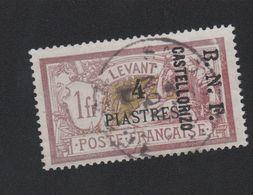 Faux Castellorizo N° 12 4 Pi Sur 1 F Merson Oblitéré Rouge Terne - Castellorizo (1920)