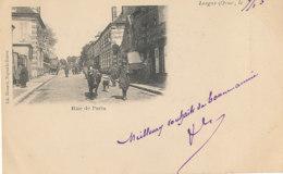AM 836 / C P A  - LONGNY    (61)  RUE DE PARIS - Longny Au Perche