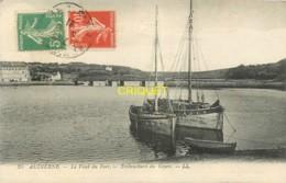 29 Audierne, Le Fond Du Port, Embouchure Du Goyen, Beaux Bateaux Au 1er Plan, Cliché Pas Très Courant - Audierne