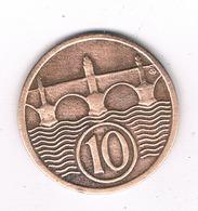10 HALLER 1924  TSJECHOSLOWAKIJE /2885/ - Tchécoslovaquie
