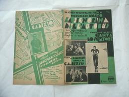 SPARTITO CANTA LO SCIATORE CANZONE MARCIA FILM LA SIGNORINA DELL'AUTOBUS 1934 - Musica & Strumenti