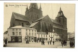 CPA - Carte Postale -BELGIQUE - Soignies - Eglise Saint Vincent  VM1887 - Soignies