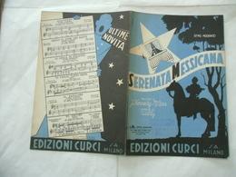 SPARTITO MUSICALE SERENATA MESSICANA SAMSA PAROLE DI WILLY KENNEDY-CARR. - Musica & Strumenti