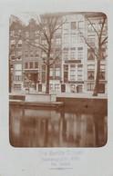 CARTE PHOTO:PAYS BAS MAGASIN WEN J.GERBER ZOOM,THE BERLITZ SCHOOL HEERENGRACHT..ÉCRITE - Other