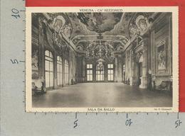 CARTOLINA NV ITALIA - 1936 Mostra Settecento Veneziano A Cà Rezzonico - VENEZIA - Sala Da Ballo - 10 X 15 - Esposizioni