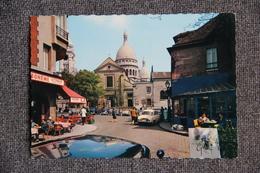 PARIS - MONTMARTRE, La Place Du Tertre, L'Eglise ST PIERRE - Arrondissement: 18