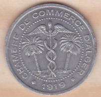 Algérie , Chambre De Commerce D'Alger , 5 Centimes 1919 , Aluminium - Algérie