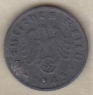 1 Reichspfennig 1943 D (MUNICH) En Zinc - [ 4] 1933-1945 : Third Reich