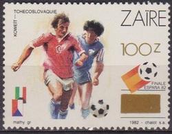 Sport - ZAIRE - Football - Coupe Du Monde Espagne - N* 1331 ** - Surchargé - 1990 - Zaïre