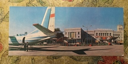 Ukraine. Chernivtsi Airport  . Aeroport  - Plane -avion - Old USSR PC - 1960s - Euro Format Postcard - Rare!! - Aerodromes
